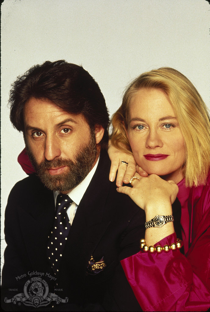 Cybill Shepherd and Ron Silver in Married to It (1991)