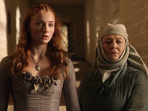 Susan Brown and Sophie Turner in Game of Thrones (2011)
