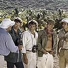 Jacques Brel, Charles Denner, Charles Gérard, and Aldo Maccione in L'aventure, c'est l'aventure (1972)
