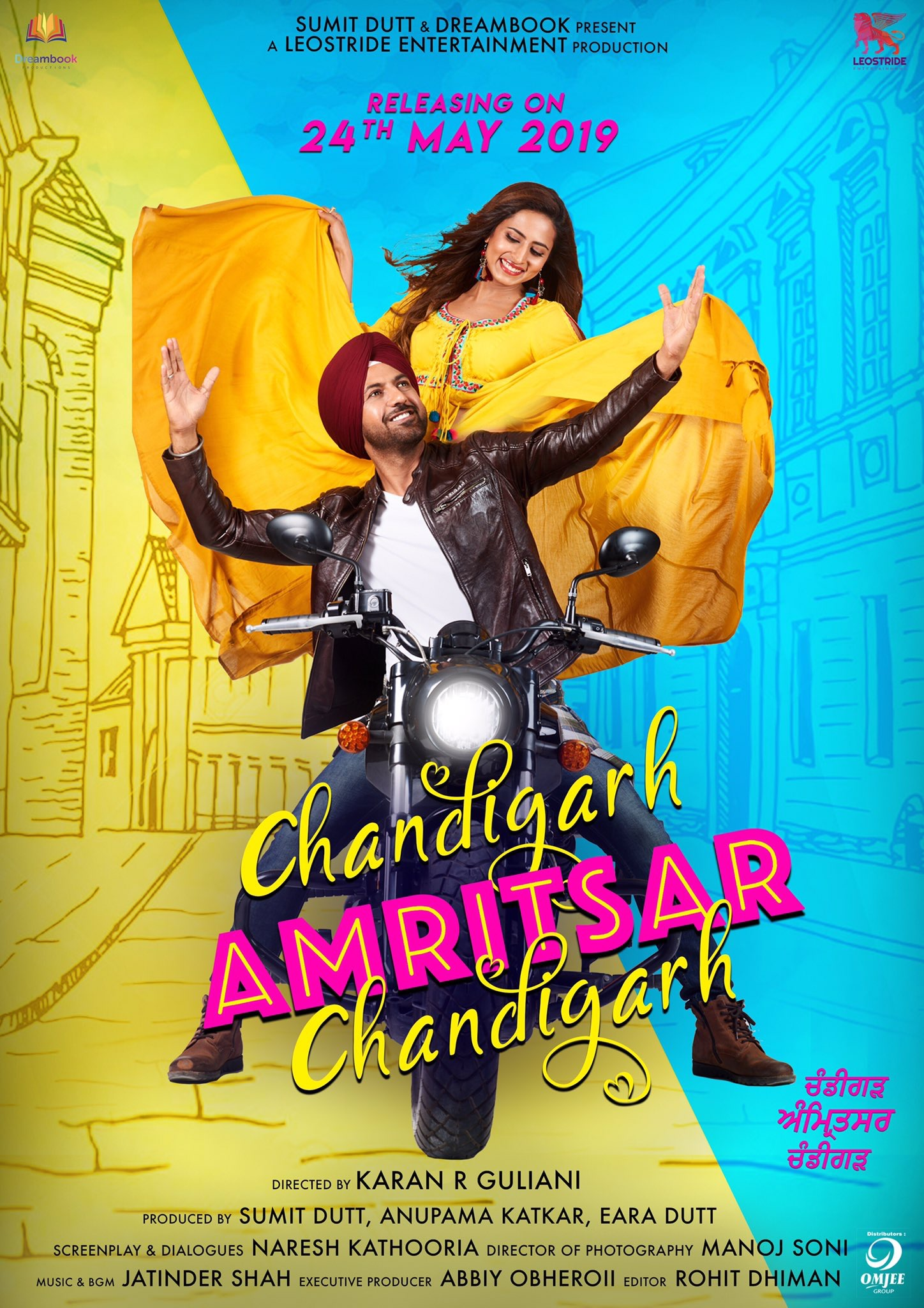 Chandigarh Amritsar Chandigarh (2019) Punjabi 480p HDRip x264