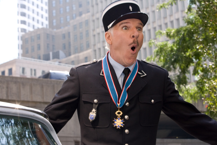 Steve Martin in The Pink Panther 2 (2009)