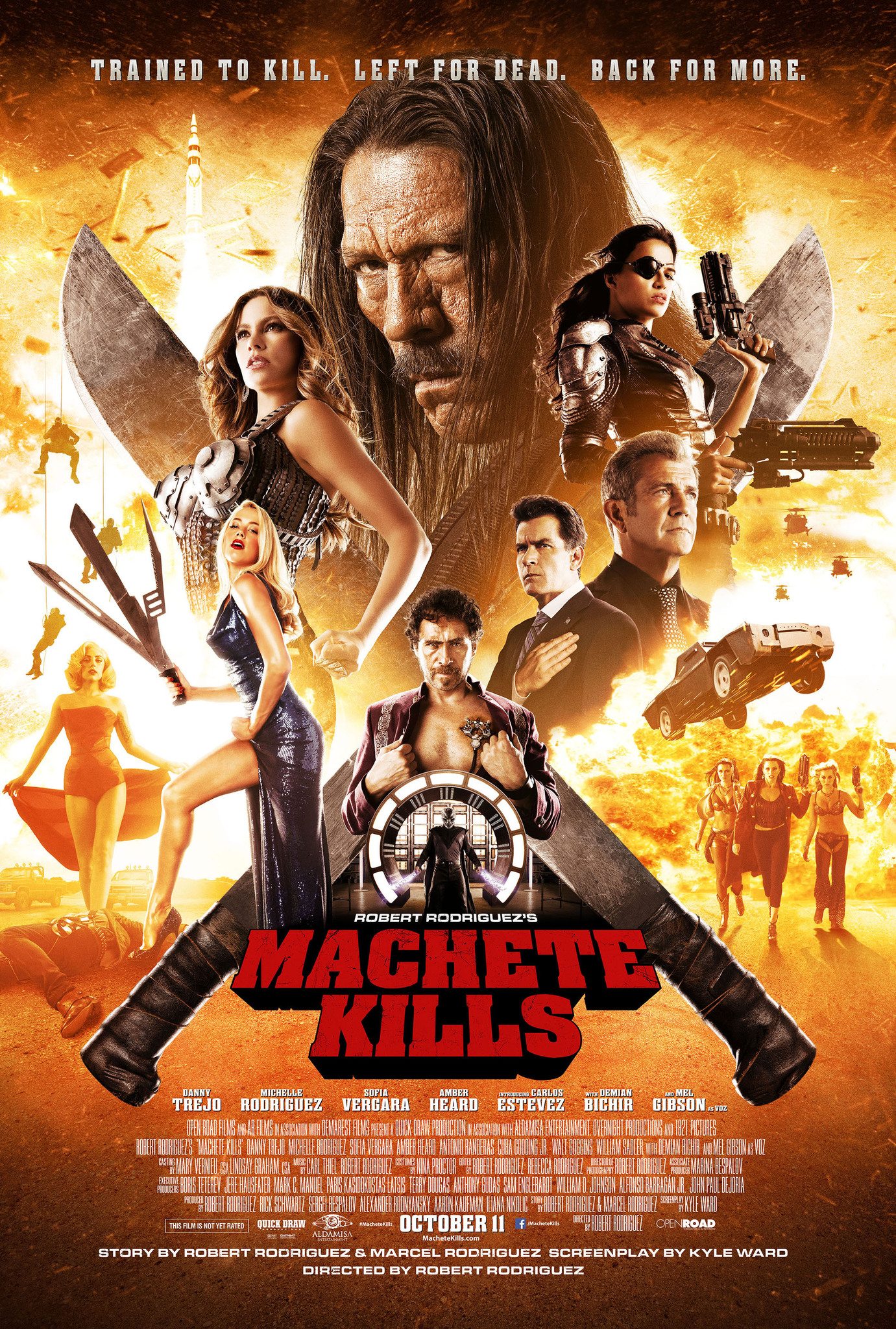 film machete kills gratuit