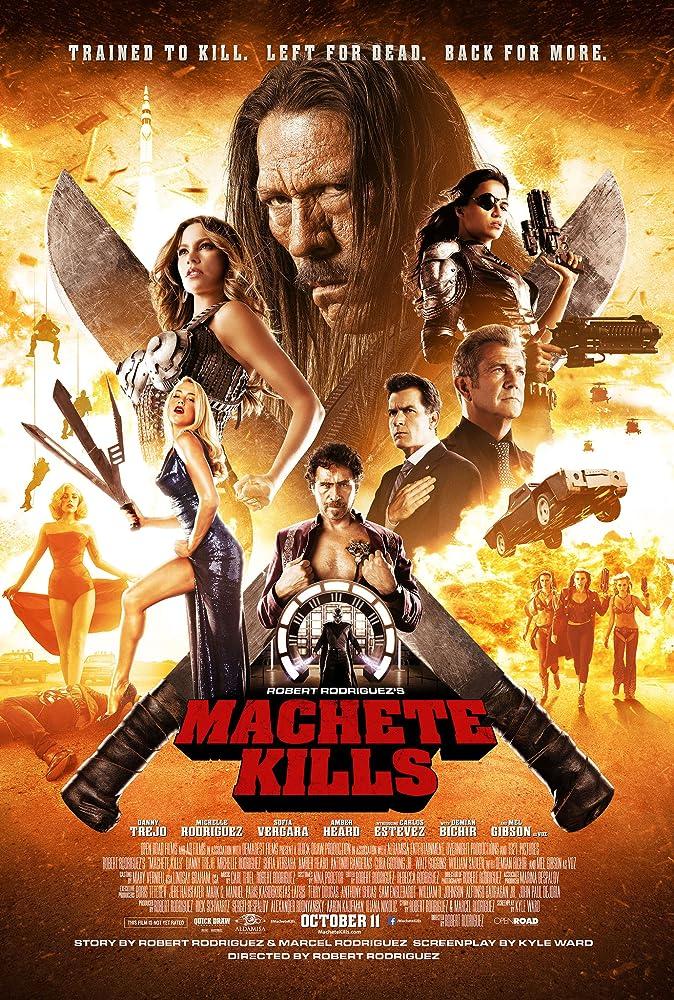 Machete Kills 2013 English 720p BluRay 800MB Download
