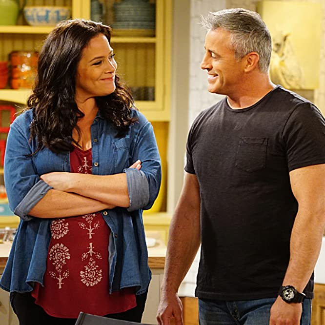 Matt LeBlanc and Liza Snyder in Man with a Plan (2016)