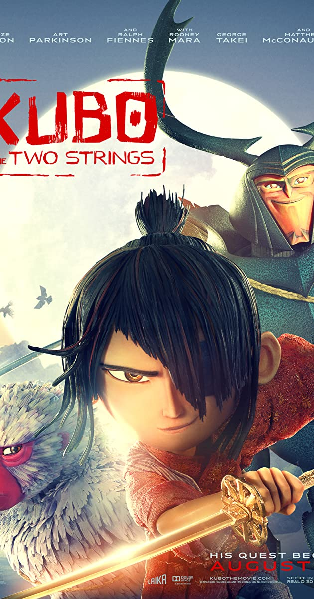 Subtitle of Kubo and the Two Strings
