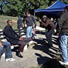 Left to Right: Sanaa Lathan, Taye Diggs and Director/Writer Rick Famuyiwa on the set of Brown Sugar