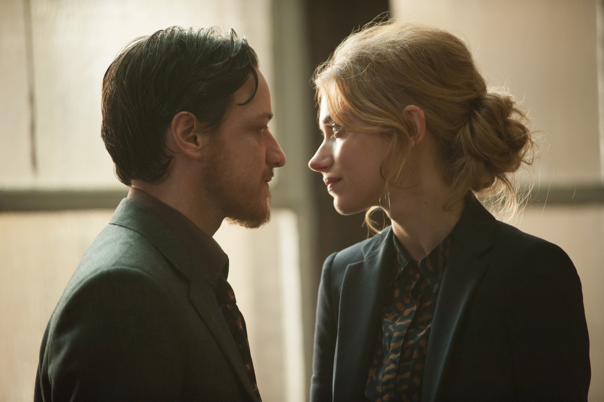 James McAvoy and Imogen Poots in Filth (2013)