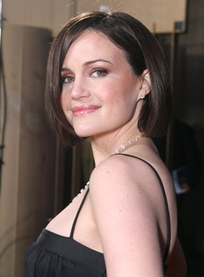 Carla Gugino at an event for The Lookout (2007)