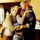 Woody Harrelson, Randy Quaid, and Vanessa Angel in Kingpin (1996)