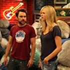 Charlie Day and Kaitlin Olson in It's Always Sunny in Philadelphia (2005)