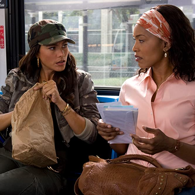 Angela Bassett and Sofía Vergara in Meet the Browns (2008)