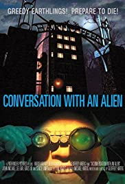 A Conversation with an Alien Poster