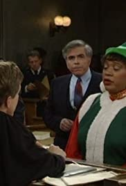 The Night Court Before Christmas Poster