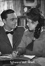 Elfriede Datzig and Hans Holt in Schwarz auf Weiß (1943)