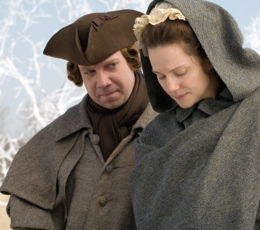 Laura Linney and Paul Giamatti in John Adams (2008)