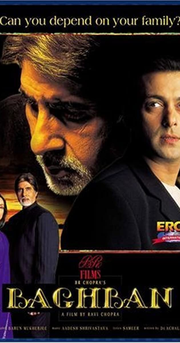 essay on my favourite movie baghban