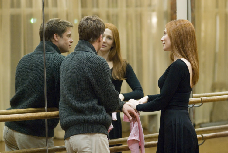 Brad Pitt and Cate Blanchett in The Curious Case of Benjamin Button (2008)
