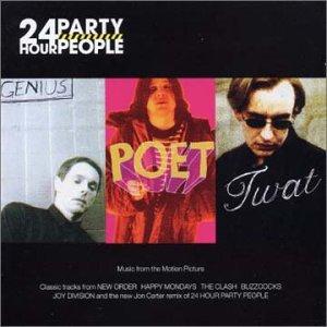 Steve Coogan, Danny Cunningham, and Sean Harris in 24 Hour Party People (2002)