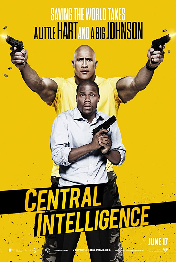 Central Intelligence 2016 Hindi Dual Audio 720p BluRay 800MB Download