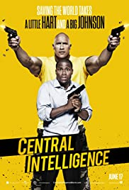 Central Intelligence (2016) Poster - Movie Forum, Cast, Reviews
