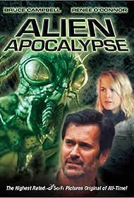 Bruce Campbell and Renée O'Connor in Alien Apocalypse (2005)
