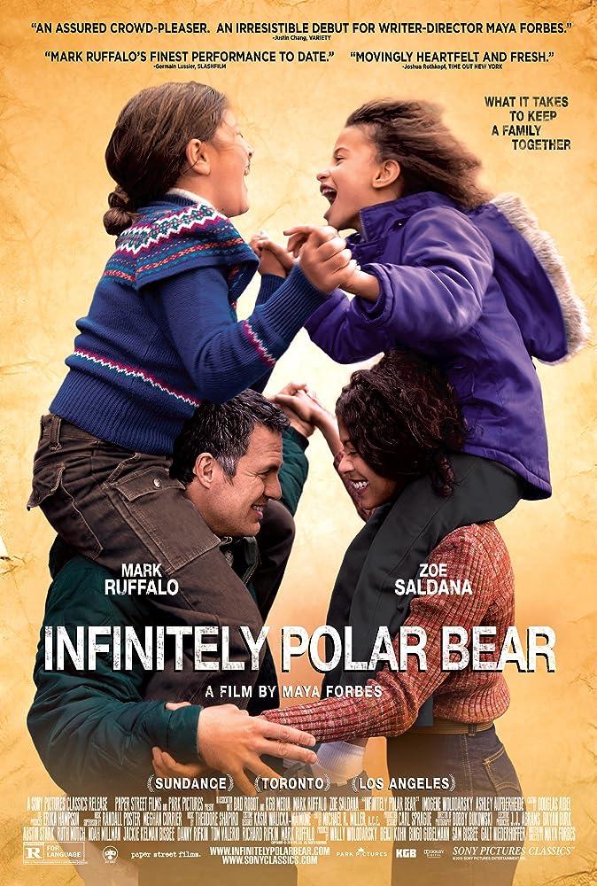 Mark Ruffalo, Zoe Saldana, Imogene Wolodarsky, and Ashley Aufderheide in Infinitely Polar Bear (2014)