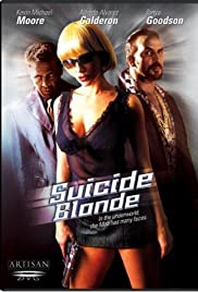 Suicide Blonde Poster