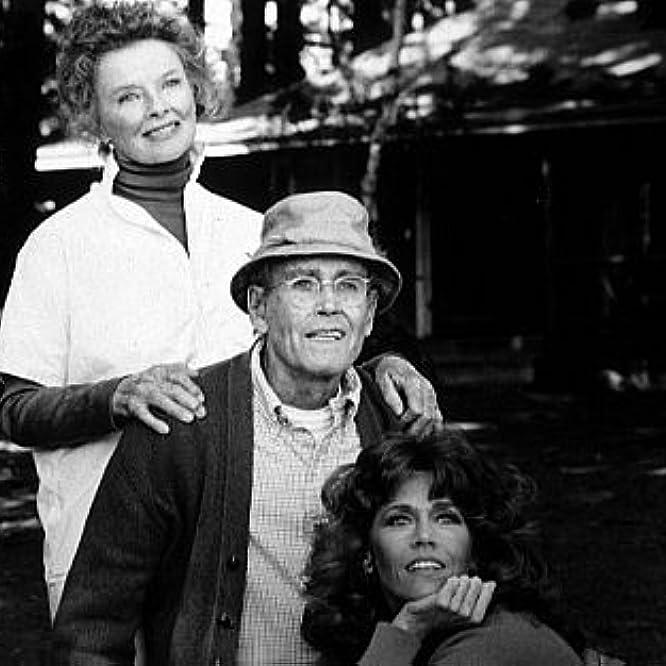 3631-15 Henry and Jane Fonda, Katharine Hepburn in