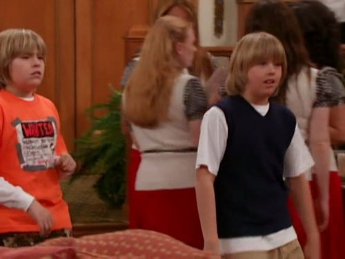 Cole Sprouse and Dylan Sprouse in The Suite Life of Zack & Cody (2005)