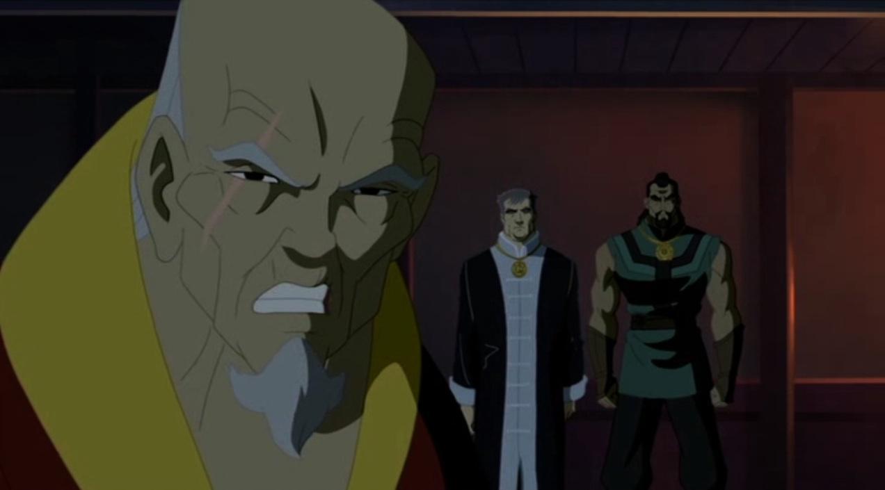 Kevin Michael Richardson, Michael Yama, and Paul Nakauchi in Doctor Strange (2007)
