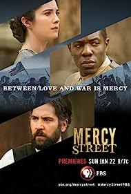 Mary Elizabeth Winstead, Josh Radnor, and McKinley Belcher III in Mercy Street (2016)