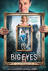Amy Adams and Christoph Waltz in Big Eyes (2014)