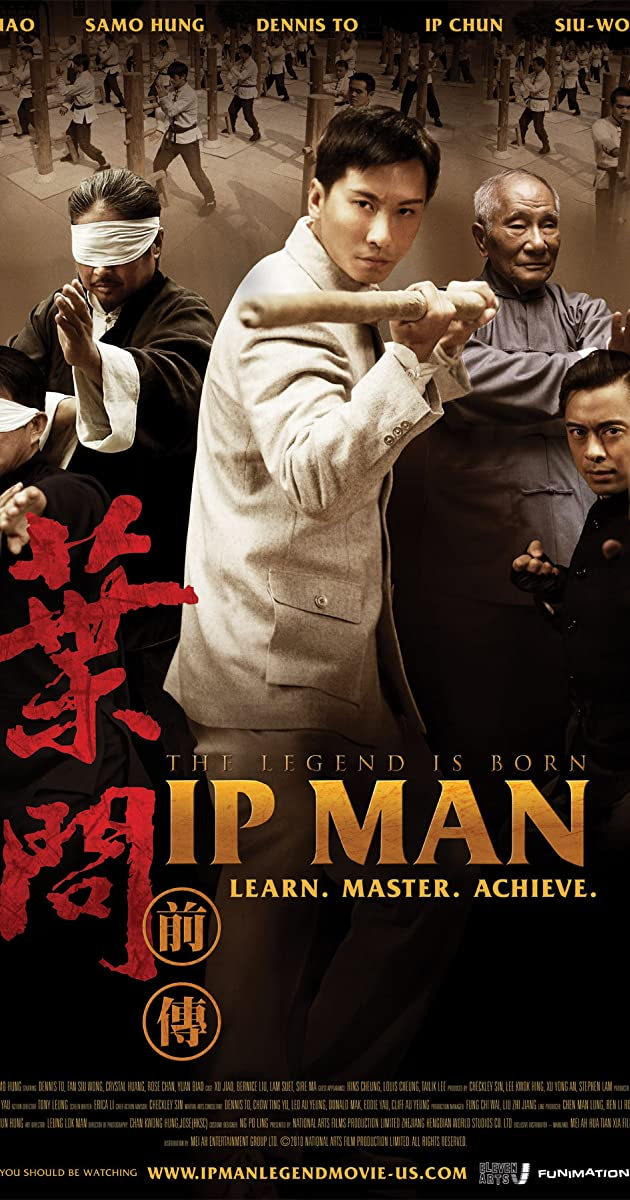 Subtitle of The Legend Is Born: Ip Man