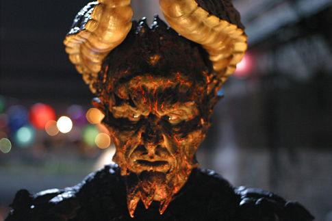 "The Beast (Vladimir Kulich) in ""Apocalypse, Nowish."""