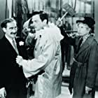 Groucho Marx, Walter Woolf King, and Harpo Marx in A Night at the Opera (1935)