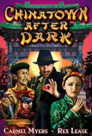 Chinatown After Dark Poster