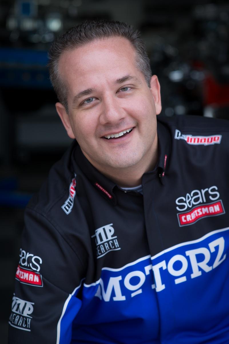 Chris Duke, host of Motorz