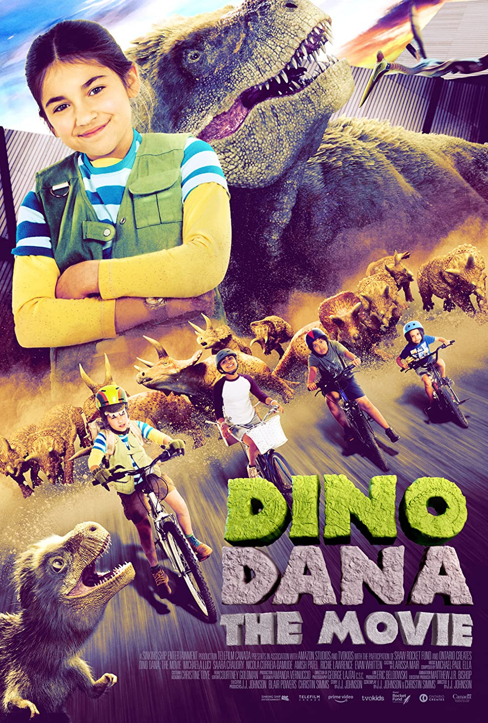 Dino Dana: The Movie (2020) Subtitle Indonesia
