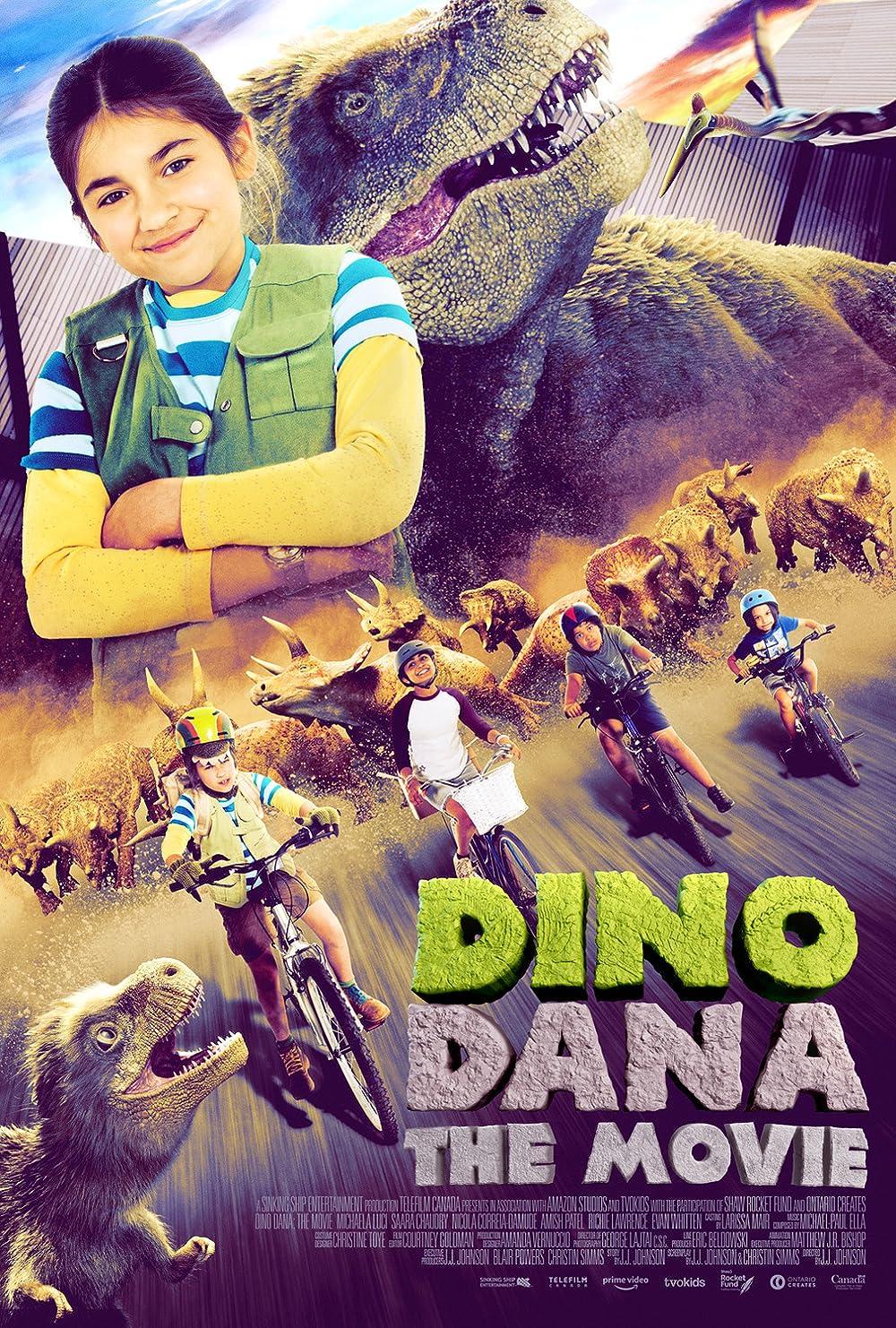 Dino Dana: The Movie (2020) Subtitle Indonesia