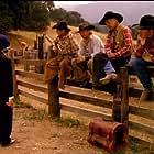Harry Dean Stanton, Frederic Golchan, Rick Guillory, Jack Nance, and Tracey Walter in Les Français vus par (1988)