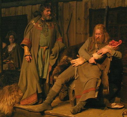 Stellan Skarsgård in Beowulf & Grendel (2005)