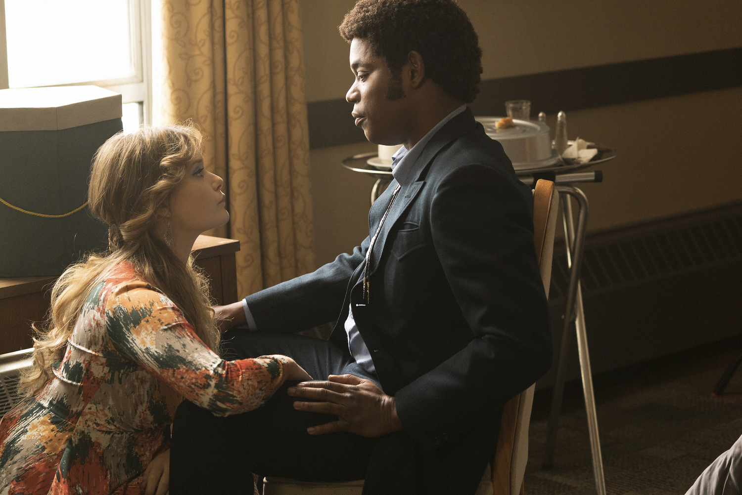 Bokeem Woodbine and Rachel Keller in Fargo (2014)
