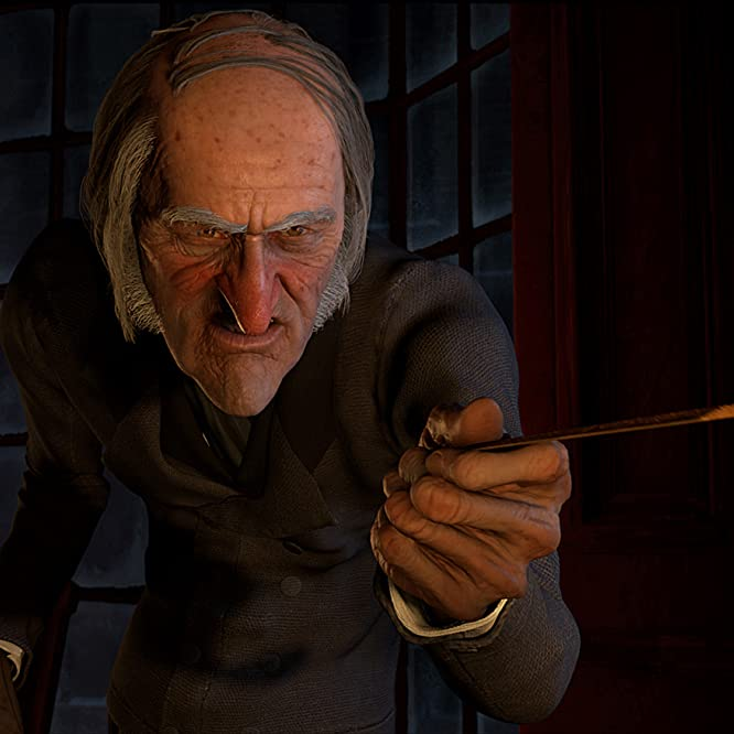 Jim Carrey in A Christmas Carol (2009)