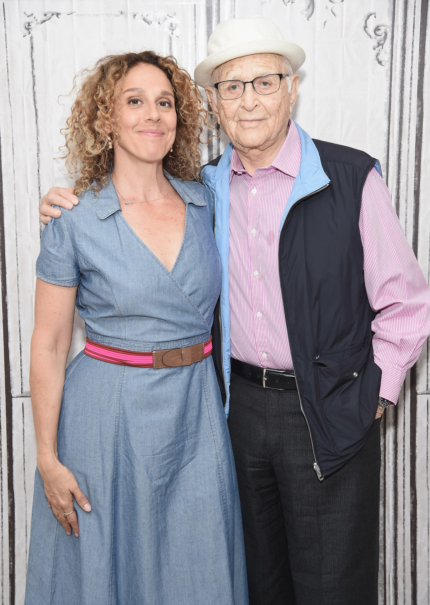 Norman Lear and Rachel Grady at an event for Norman Lear: Just Another Version of You (2016)