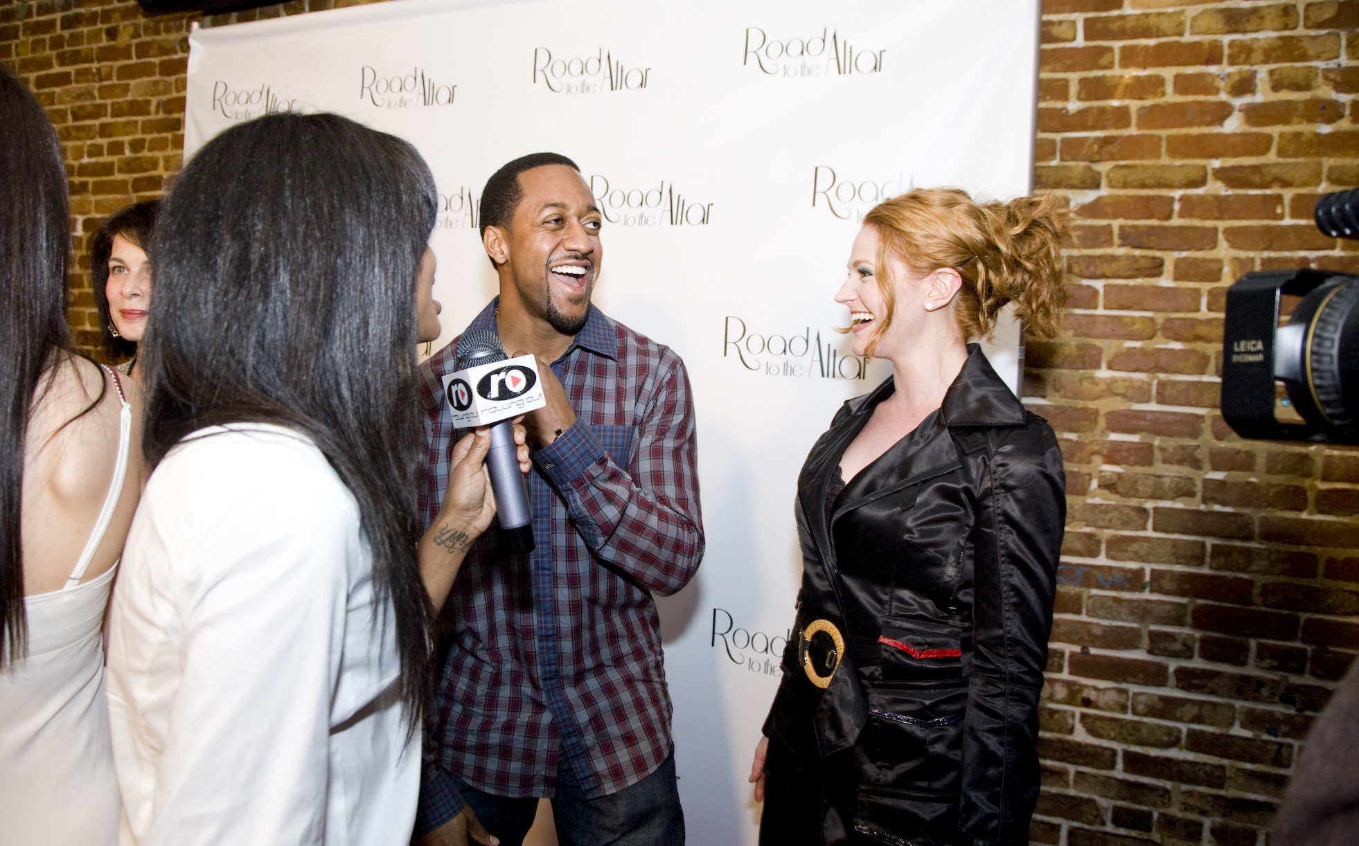 Jaleel White with Leyna Juliet Weber  at the premiere of Road to the Altar