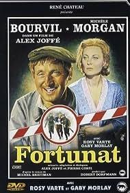 Michèle Morgan and Bourvil in Fortunat (1960)