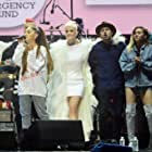 Miley Cyrus, Taboo, Will.i.am, Imogen Heap, Katy Perry, Ariana Grande, and Niall Horan at an event for One Love Manchester (2017)