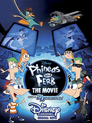 Where to stream Phineas and Ferb the Movie: Across the 2nd Dimension