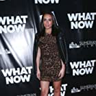 """Christine Solomon at the premiere of """"What Now""""."""
