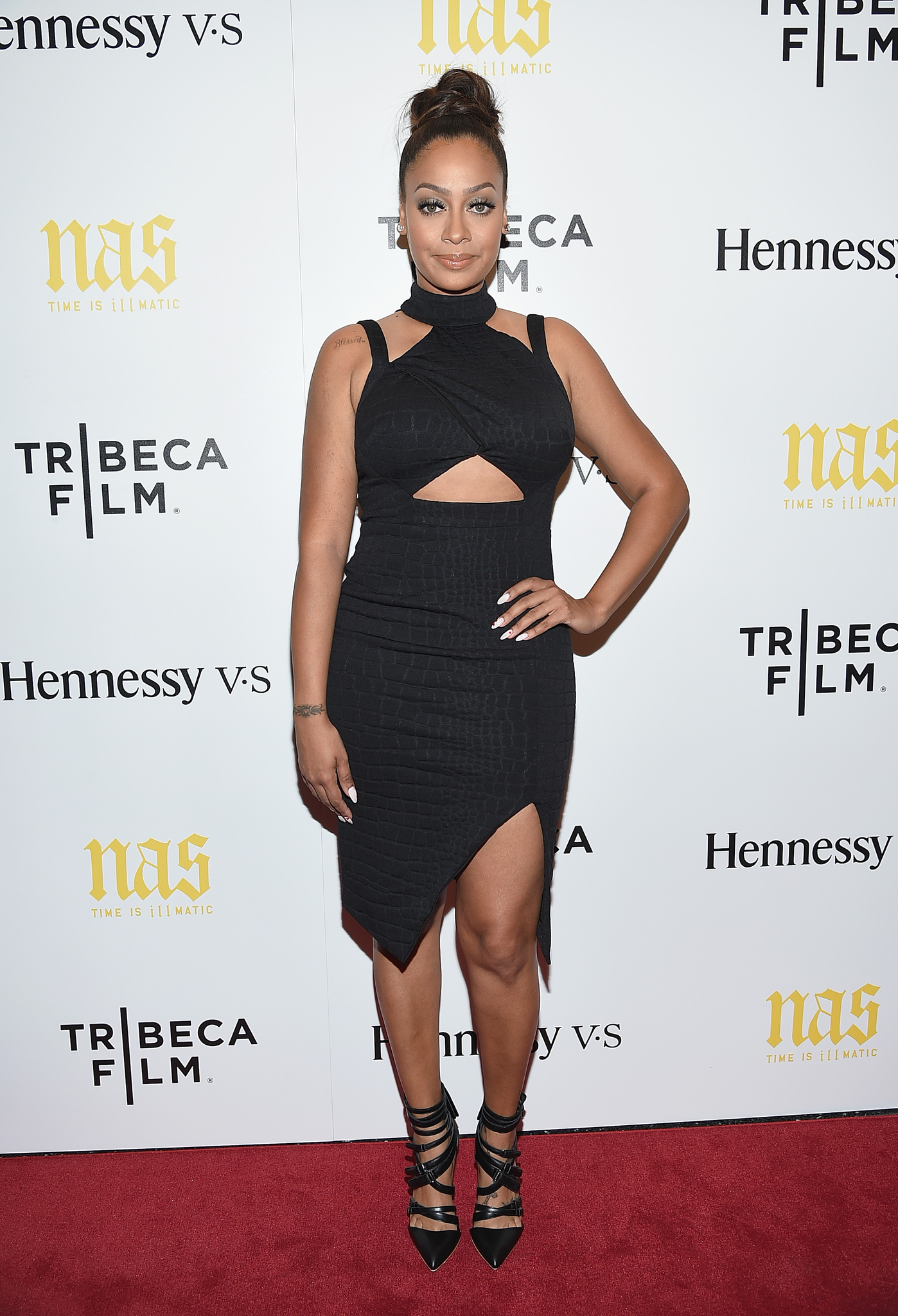La La Anthony at an event for Time Is Illmatic (2014)